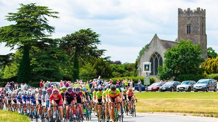 The 2018 OVO Energy Women's Tour - Stage 1, Framlingham to Southwold. Picture by Alex Whitehead/SWpi