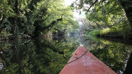 A view down the River Stour
