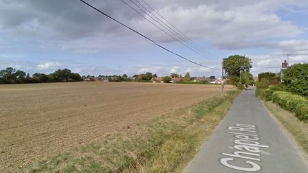 The field west of Chapel Road, Grundisburgh, has been included in the Suffolk Coastal Local Plan fin