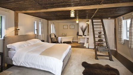 Hill Farm House could be yours for �1.8m it has a heated swimming pool, a yoga studio and five bedro