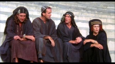 Life of Brian has been called one of the funniest films of all time. Photo: HandMade Films