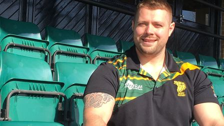 Ben Cooper, who has been unveiled as a new player-coach at Bury St Edmunds. Picture; CARL MARSTON