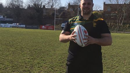 Prop forward Ben Cooper, who has returned to the Bury St Edmunds club where he started his career. P