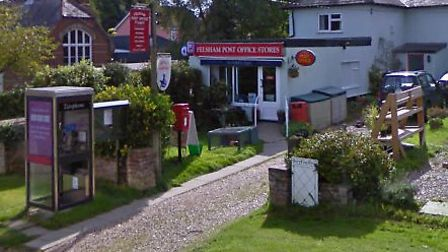 The shop and post office at Felsham has been saved from closure by villagers Picture: GOOGLE MAPS