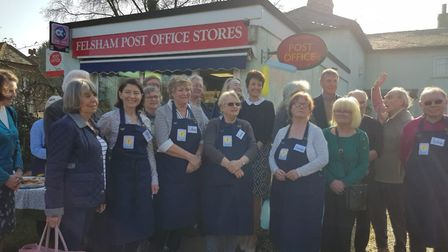 Jo Churchill MP opens Felsham and Gedding Community Store and post office Picture: BEVERLEY WILLIAM