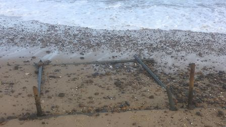 Kessingland Parish Council are also worried about the defences Picture: BRIAN SCOTT