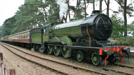 The North Norfolk Railway's flagship engine - the now-unique B12 locomotive. Picture: PAUL GEATER