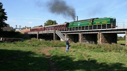 The Nene Valley Railway's Southern Railway locomotive 92 Squadron Picture: PAUL GEATER