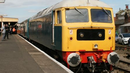 The Mid Norfolk Railway has a fine collection of heritage diesel locomotives. Picture: PAUL GEATER
