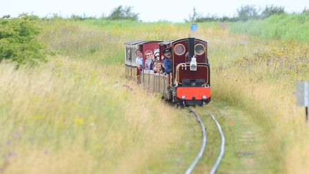 The Wells & Walsingham Light Railway is the longest in the world - for its gauge. Picture: Ian Burt
