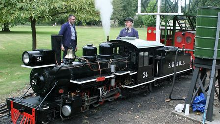 The Audley End minature Railway uses steam engines of an American design. Picture: PAUL GEATER