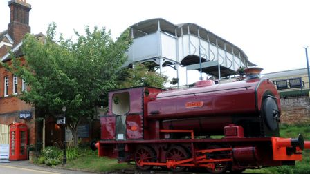 The East Anglian Rail Museum at Chappel and Wakes Colne station. Picture: ARCHANT FILES
