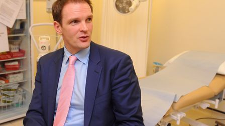 Dr Dan Poulter has won damages and an apology from The Sunday Times. Picture: DENISE BRADLEY