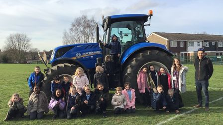 The Willows Primary School and Alex Mann Picture: VIV HUNT