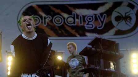 Keith Flint of The Prodigy on stage in 1996: Stefan Rousseau/PA Wire