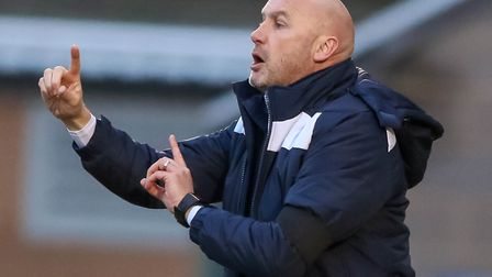 U's boss John McGreal, nominated for League Two manager of the month for February. Picture: STEVE WA