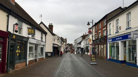 Haverhill could be set for a slice of a government funding pot to improve High Streets Picture: MICH