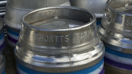 Shortts Farm Brewery is celebrating CAMRA success Picture: MARTIN CHAMBERS