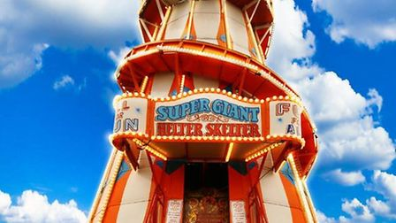 Clacton Pier's Helter Skelter is returning after a winter break in Scotland Picture: CLACTON PIER