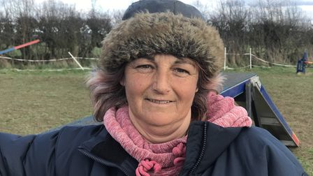 Jacqui Wood has been training dogs for over thirty years and says she is still learning something ev