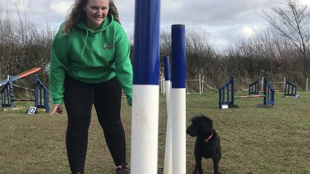 Brooke Smiles says she will savour the moment of competing at the prestigious Crufts event for the f