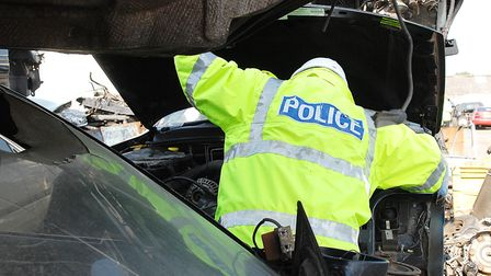 Suffolk police recorded 503 non-infrastructure related metal thefts in the two years to March 2018 -