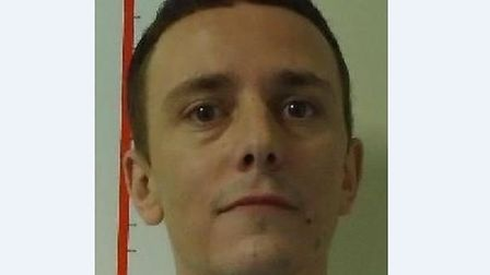 Ambrose Farrell, 33, has failed to return to Hollesley Prison after a short period of home leave Pic