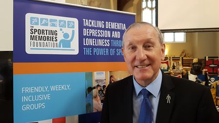Terry Butcher was speaking at the Sporting Memories charity event at Quay Place earlier this week. P