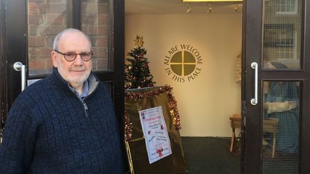 David Bonnett, co-founder of Bury Drop in, at the charity's Trinity Methodist Church base Picture: A