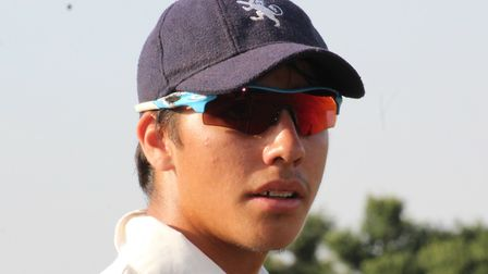 Suffolk cricketer Alex Oxley, who has been offered a place on the Warwickshire Academy. Photograph: