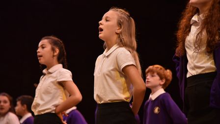 More than 1,400 pupils from 45 schools are performing this week Picture: SONYA DUNCAN