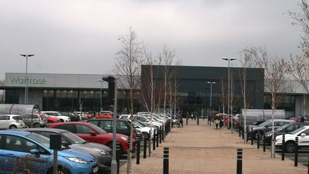 Futura Park. with Waitrose and John Lewis as well as other retail warehouses has been a big success
