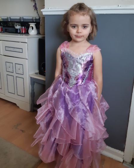 Layla Anne, who goes to Tollgate Primary, dressed as Sugar Plumb Fairy from The Nut Cracker Picture: