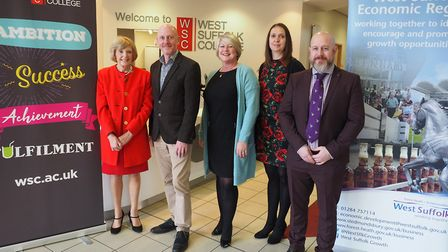 West Suffolk College has launched an initiative to tackle youth unemployment Picture: DANNY HEWITT