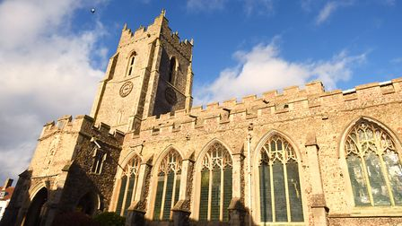 Babergh District Council has awarded a �100,000 grant to St Peter's for its match funding bid. Pictu