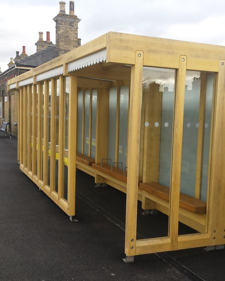 Harwich Town station has had a £500k makeover. Picture: GREATER ANGLIA