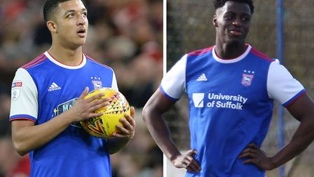 Myles Kenlock and Josh Emmanuel are out of contract this summer. Picture: ARCHANT