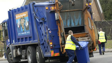 Refuse collections are a borough responsibility.