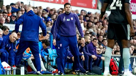 Ipswich Town assistant manager Stuart Taylor will be rejoined by Paul Lambert on the touchlines foll