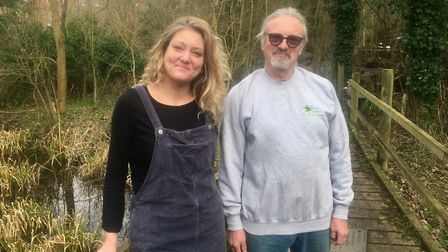 Jo and Rob Brooks, from Eden Rose Picture: ARCHANT