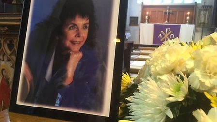 A memorial service was held for former newspaper editor Julie McCreadie Picture: Kevin Burch