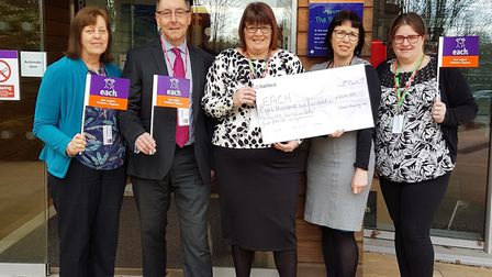 Orwell Housing paid for a day of care and support from East Anglia's Children's Hospices (EACH) acro