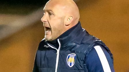 U's boss John McGreal will aim to get the better of MK Dons Picture: STEVE WALLER