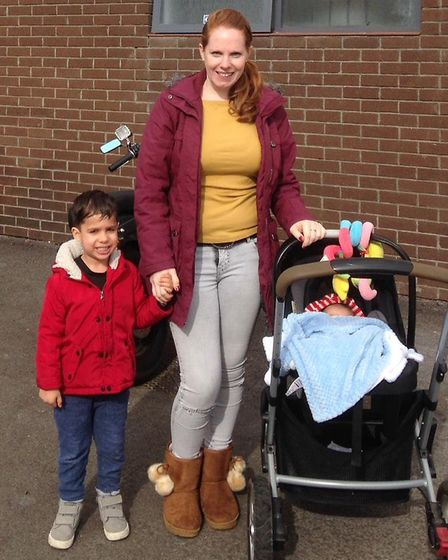 Emma Sandean from Clacton, moved to Wales and found the breastfeeding support was completely differe