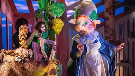 Jack and the Beanstalk, presented by Full House Theatre Company, is on in April Picture: SHAUN ARMS