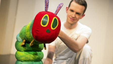 Eric Carle's The Very Hungry Caterpillar is the star of the show Picture: PAMELA RAITH
