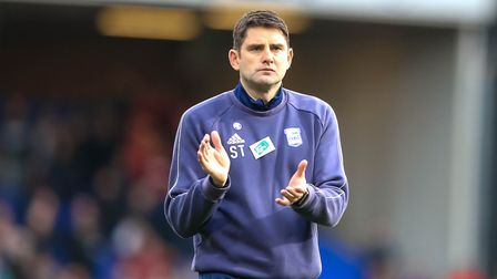 Ipswich Town assistant manager Stuart Taylor says the rock-bottom Blues head to play-off chasing Bri
