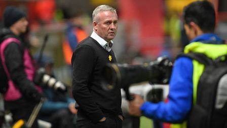 Ipswich Manager Paul Lambert at Bristol City Picture Pagepix