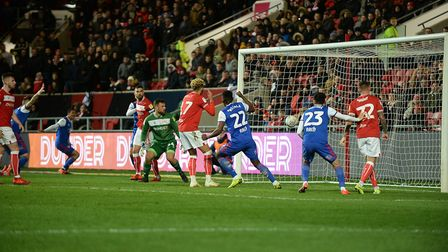 Ipswich equalise during the second half at Bristol City Picture Pagepix