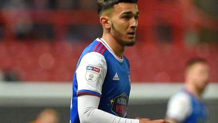 El Mizouni joined Ipswich's academy as a scholar in 2017. Picture Pagepix